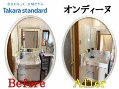 Washbasin construction example_Takara Standard(1)