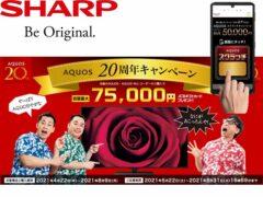 AQUOS 20th Anniversary Campaign_sharp_20210522-20210831